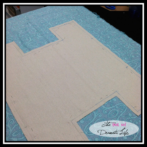 Bag Lower Fabric Layout