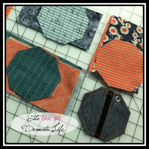 Pieces cut for cord pouches