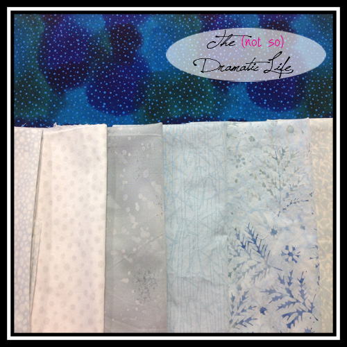 Solstice Quilt Fabric Selection