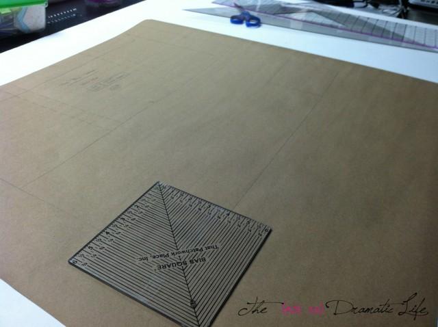Drawing the Shaping Seams