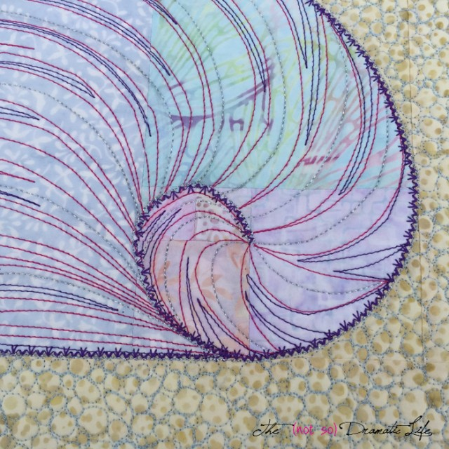 Fibonacci on the Seashore Detail 2