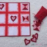 Valentine Tic-Tac-Toe Set