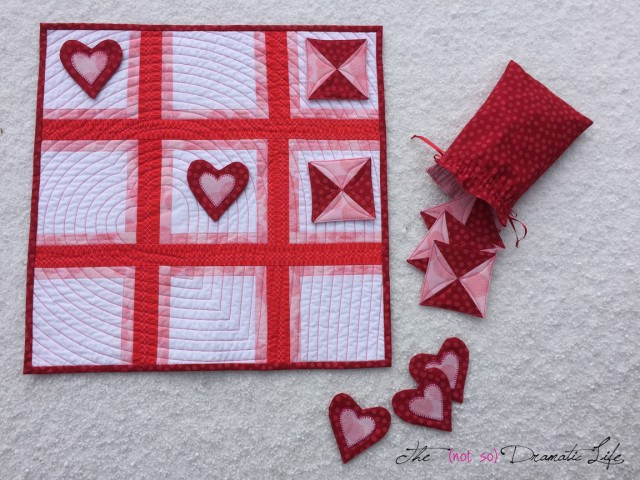 Tic-Tac-Toe Quilt Set