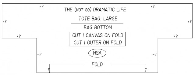 Tote Bag Pattern: Bag Bottom