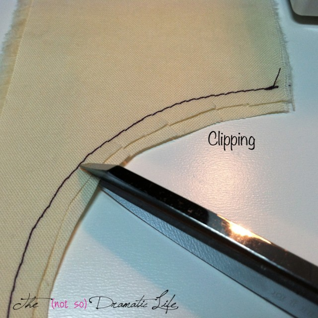 Clipping a curve