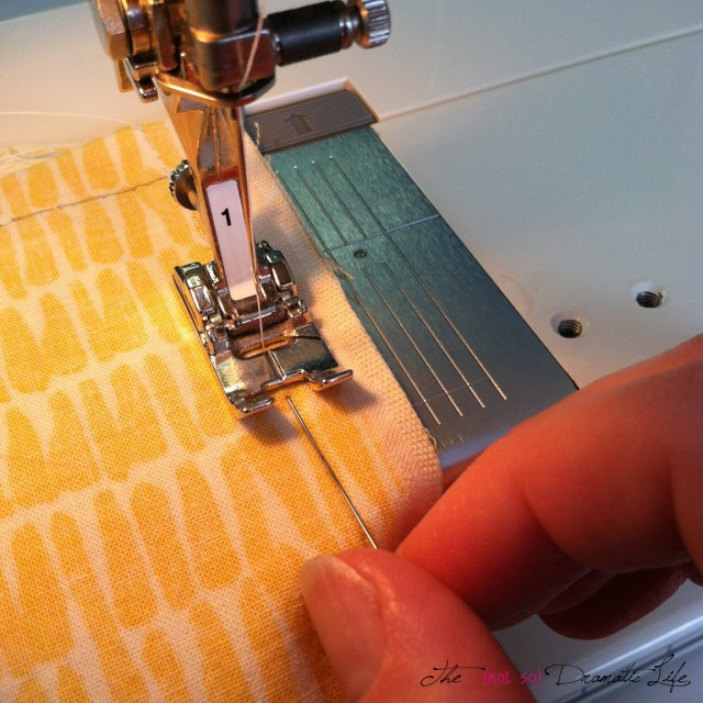 Removing Pins as you sew