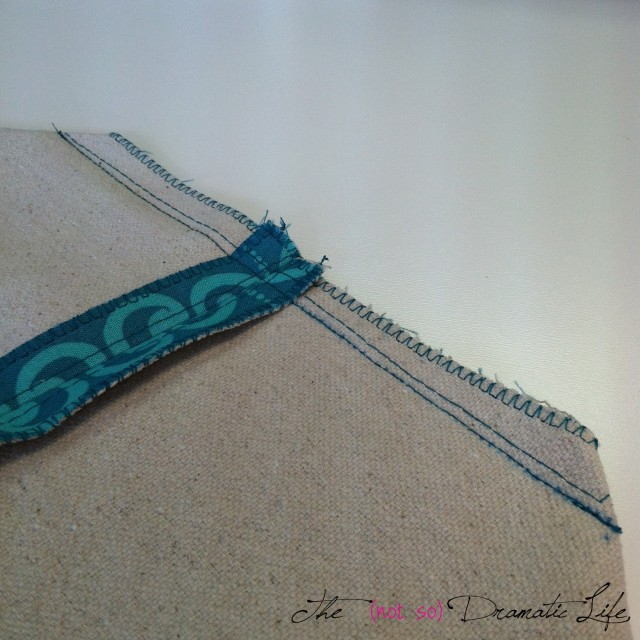 Sewn Shaping Seam