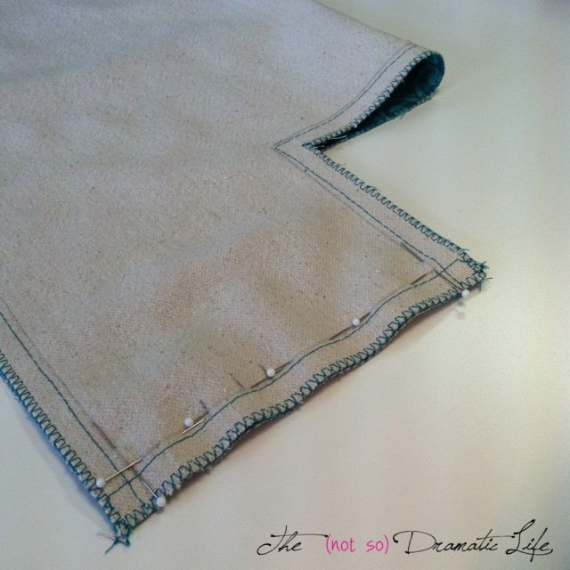 Stitching Bag Bottom Side seam