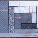 "Modern Log Cabin ""Potholder"" Style Quilt"