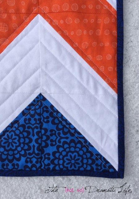 Sweet and Simple Chevron Detail View