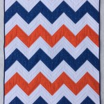 Sweet and Simple Chevron Quilt