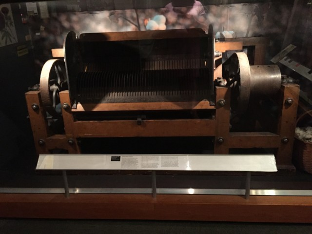 Cotton Gin from The American Textile History Museum