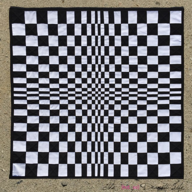 OpArt Quilt front view