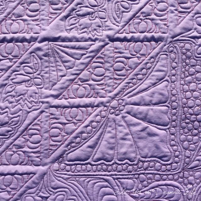 Shades of Violet back detail