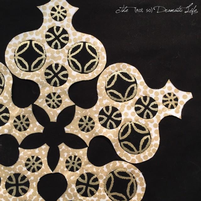 Moroccan Star process shot