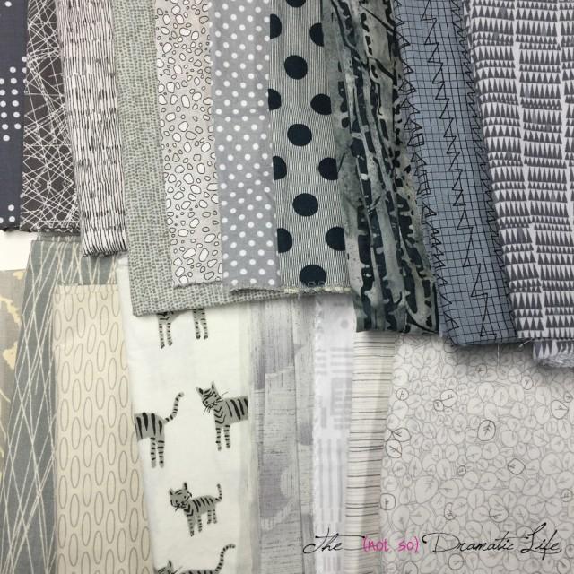 Grey Fabric Pull