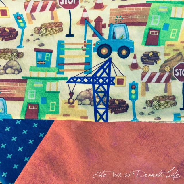 Construction Quilt Fabric