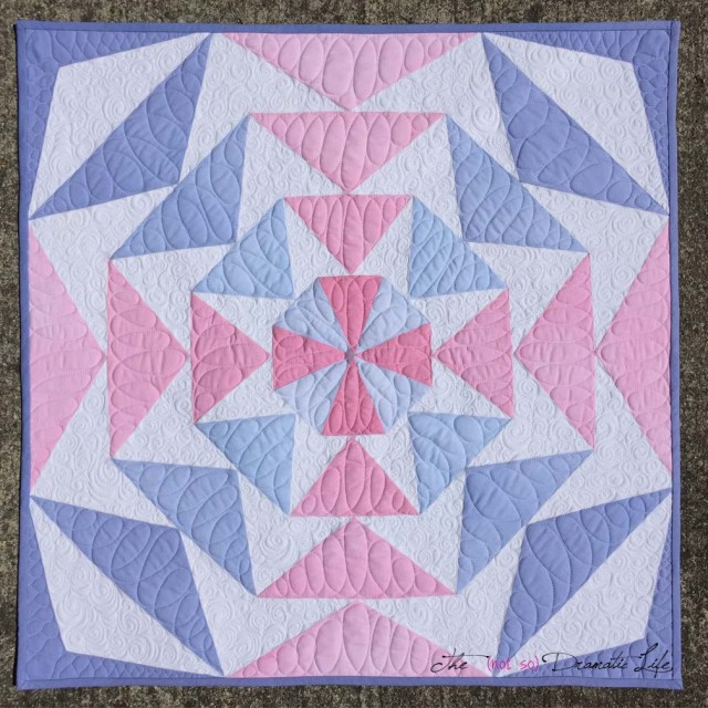 Finished EPP Challenge Quilt