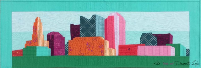 Quilted Columbus Skyline Row Mini