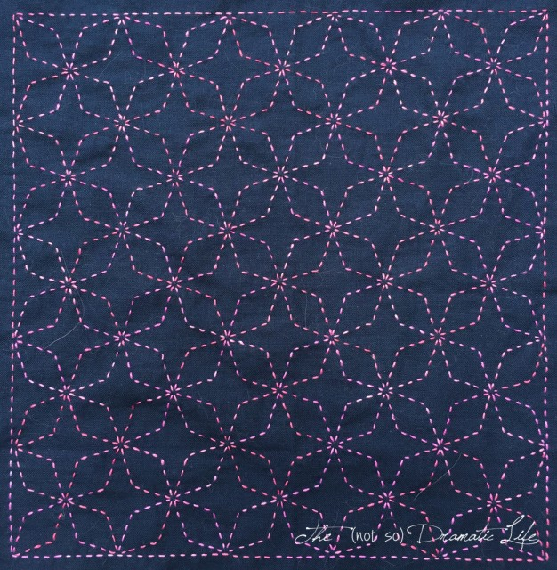 Sashiko Pillow Top
