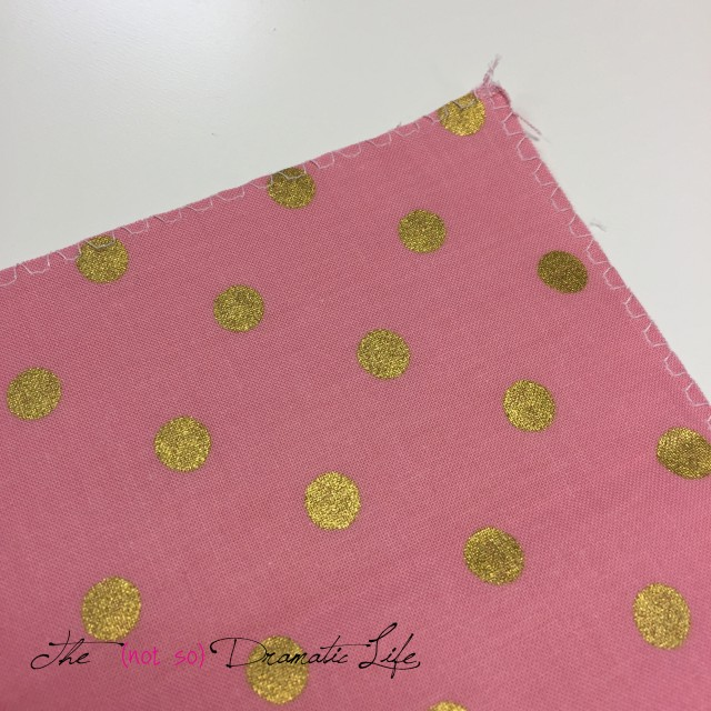 Fabric Edging Finished