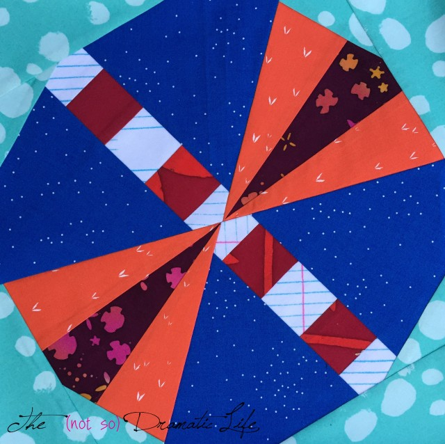 Light Show Quilt Block
