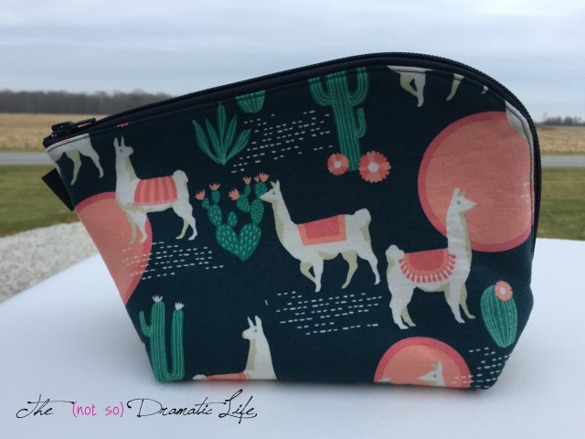Llama Open Out Box Pouch