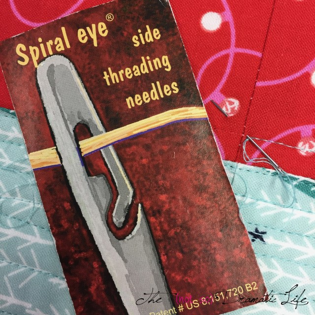 Spiral Eye Needle