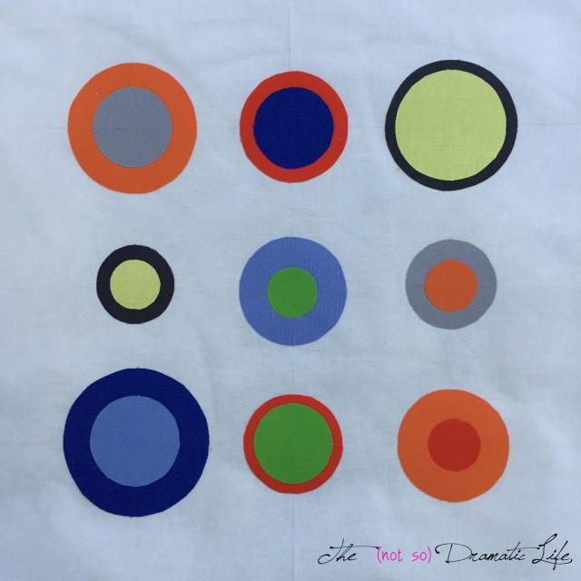 9 Patch Circles process