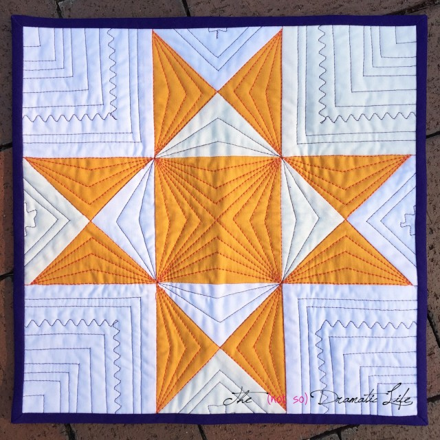 Charity Quilt 2018 Individual Block front