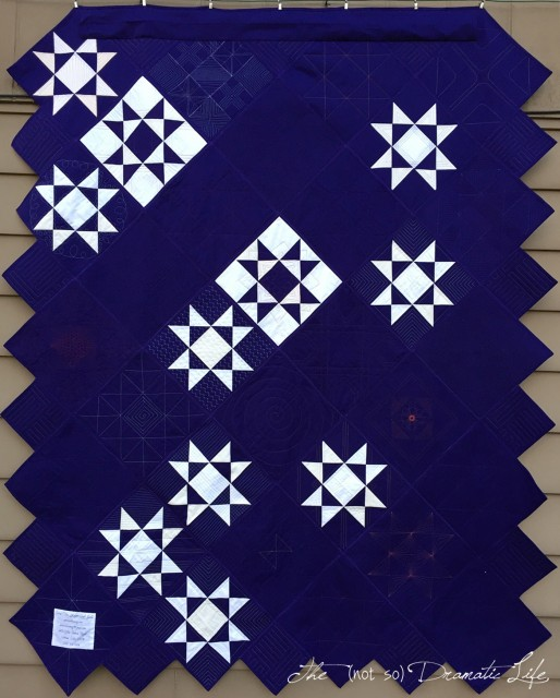 Charity Quilt 2018 back
