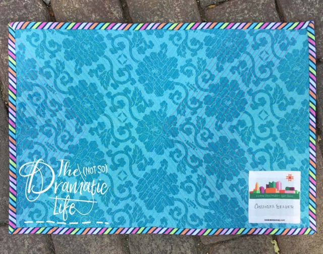 Diamond Placemat back