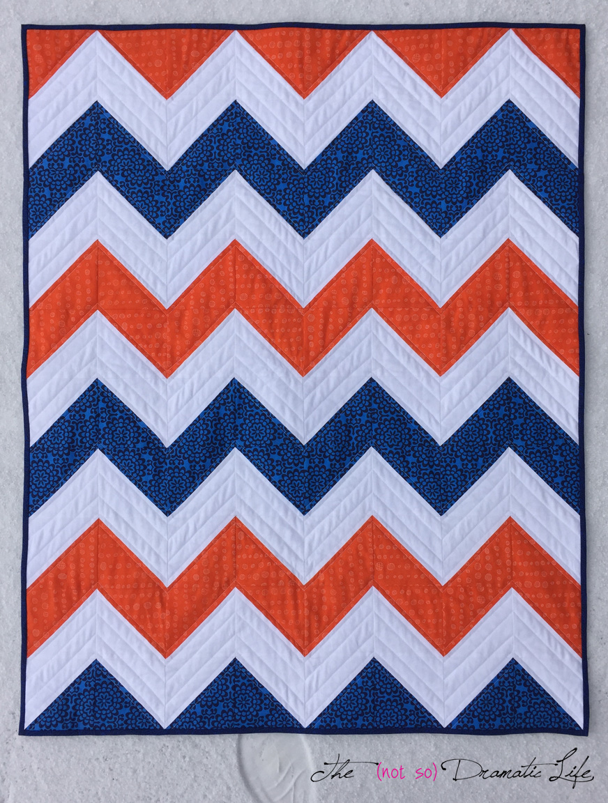 Sweet And Simple Chevron Front View